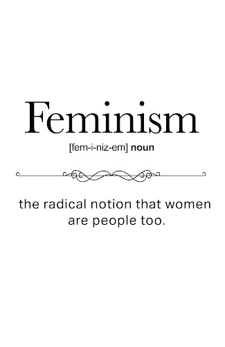 feminism word definition poster collective