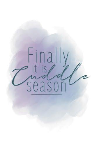 cuddle season poster collective