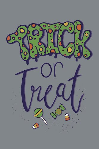 trick or treat poster collective