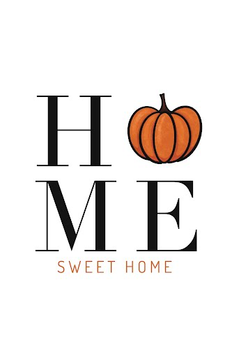 halloween home sweet home poster collective