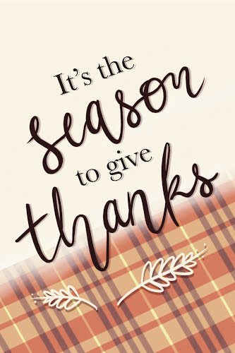 season to give thanks poster collective