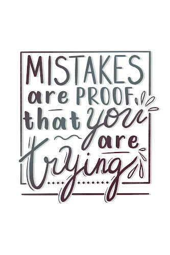 mistakes poster collective