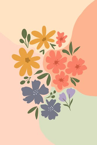 flowers poster collective