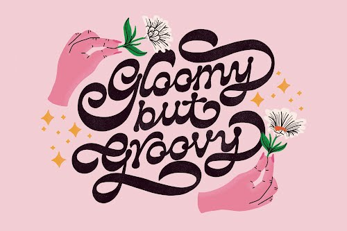 groovy landscape poster collective