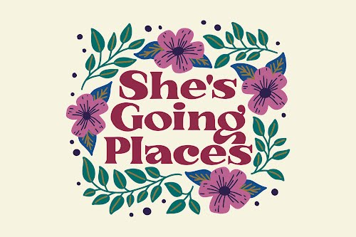 she's going places landscape poster collective