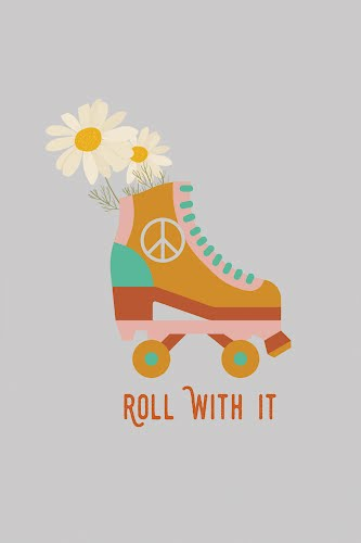 roll with it poster collective