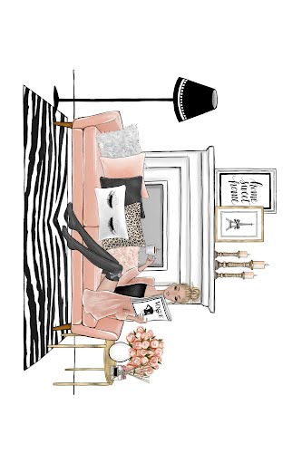 home décor drawing landscape poster collective
