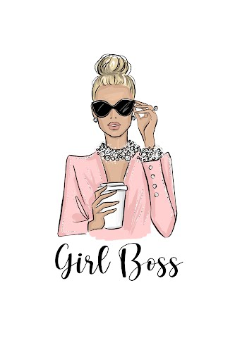 girl boss poster collective