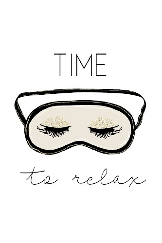 time to relax poster collective
