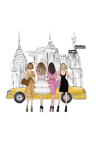 sex and the city poster collective