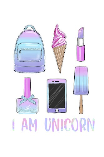 i am a unicorn poster collective