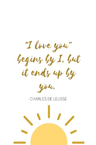 charles de leusse quote poster collective