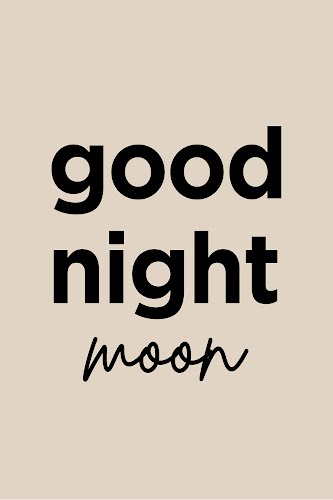 good night moon poster collective