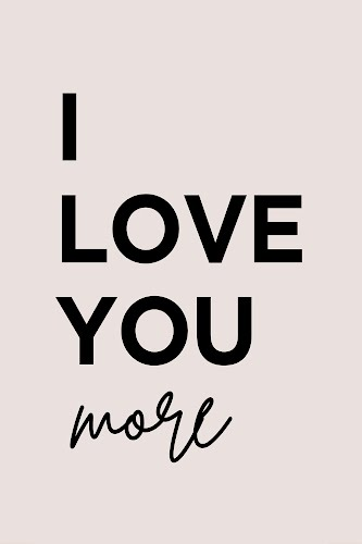 love you more poster collective