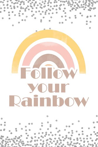 follow your rainbow poster collective