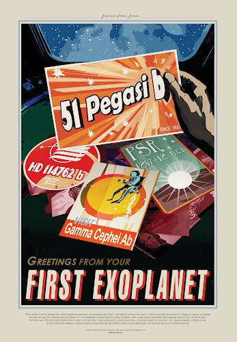 greetings from your first exoplanet nasa poster collective