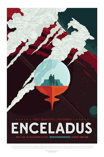 enceladus nasa poster collective