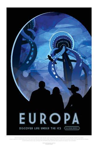 europa nasa poster collective