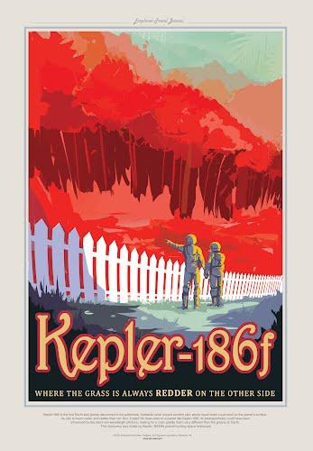 kepler 186f nasa poster collective