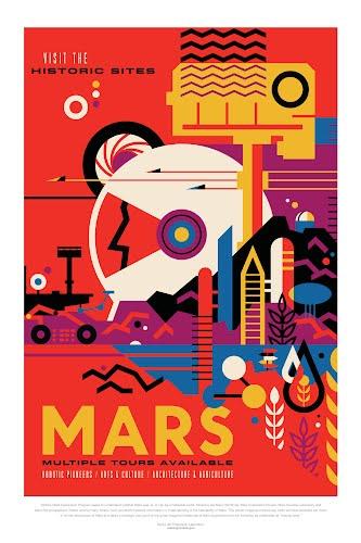 mars nasa poster collective