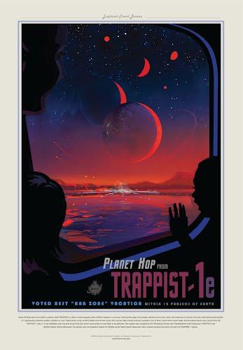 trapist nasa poster collective