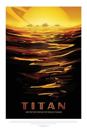 titan nasa poster collective