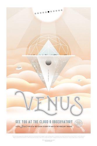 venus nasa poster collective