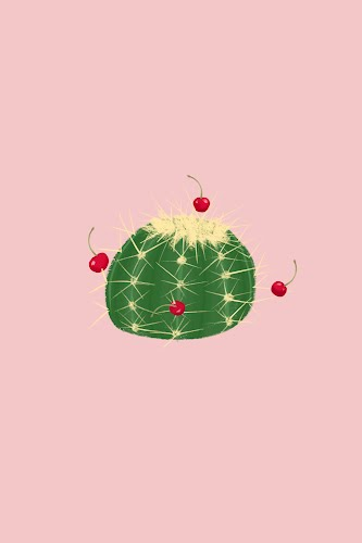 cactus and cherries poster collective