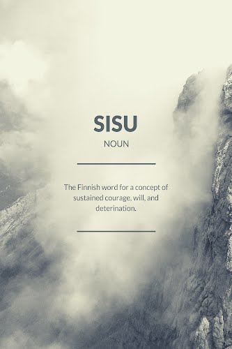 sisu word definition poster collective