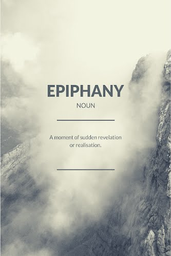 epiphany word definition poster collective